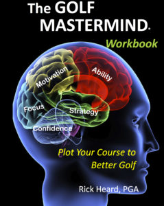 Golf MasterMind Workbook Front Cover